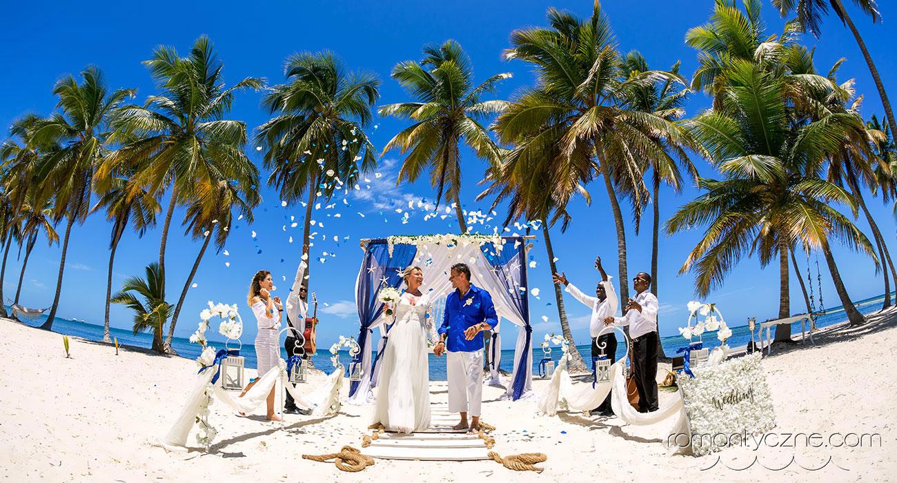 Jedyny w swoim rodzaju ślub na plaży