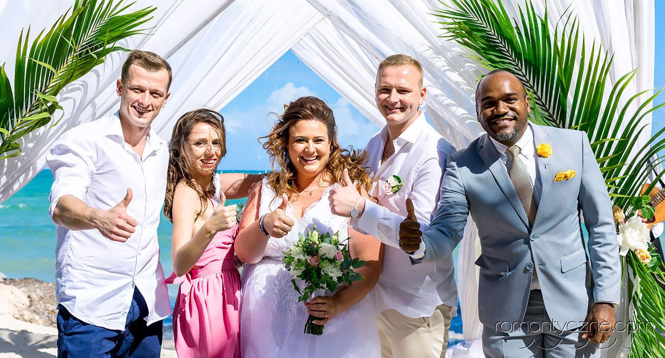 Perfekcyjny ślub na plaży