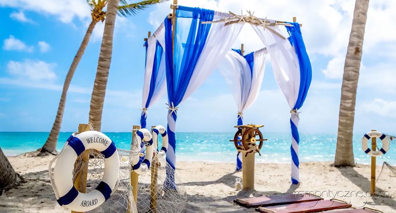 Ślub w stylu morskim
