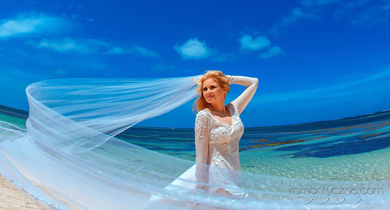 Moda ślubna na plażę dla Panny Młodej