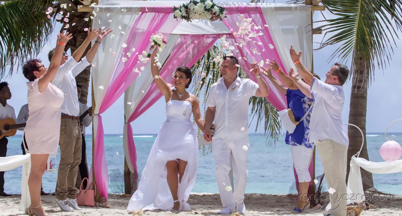 Ślub w karaibskim klimacie