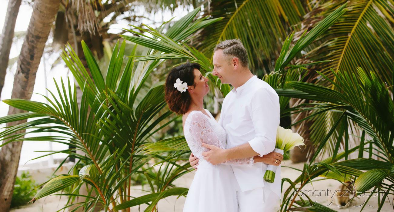 Romantyczny ślub na Dominikanie