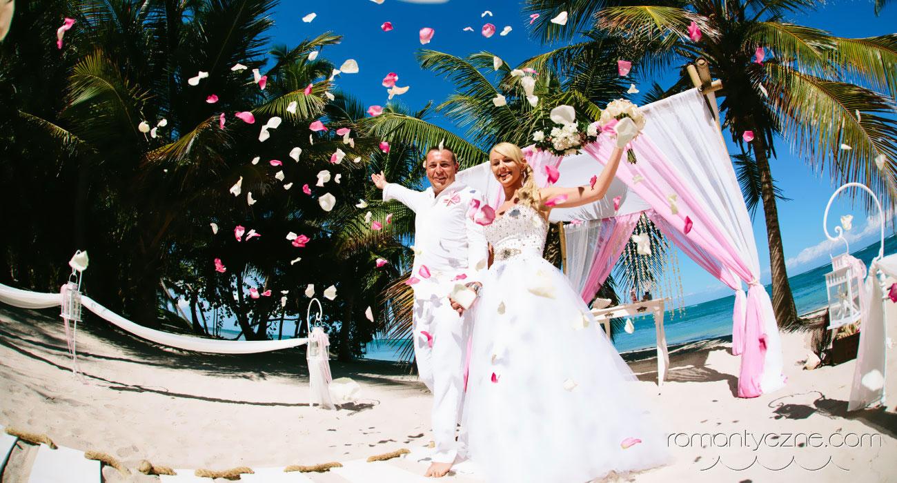 Romantyczny ślub na plaży