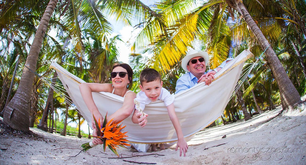 Ślub w rajskim zakątku świata