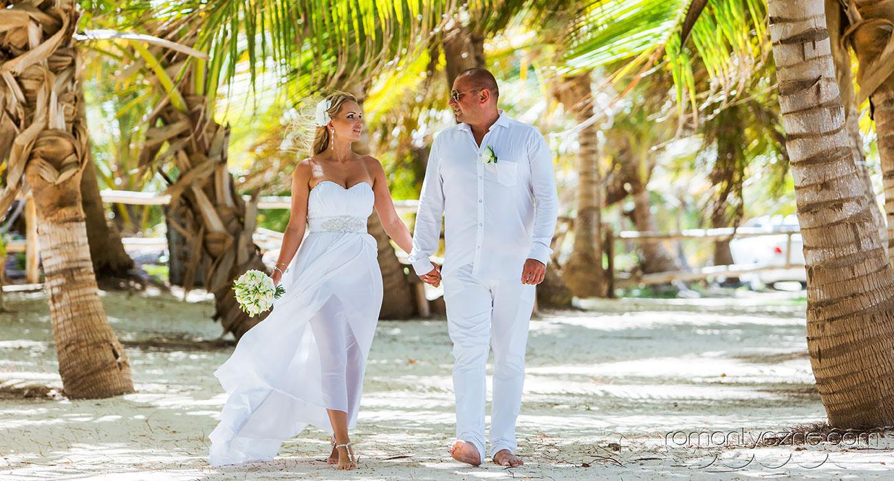Dominikana - Ślub jak z bajki