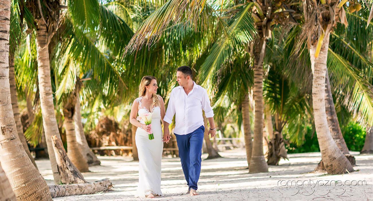 Cudowny ślub na Dominikanie