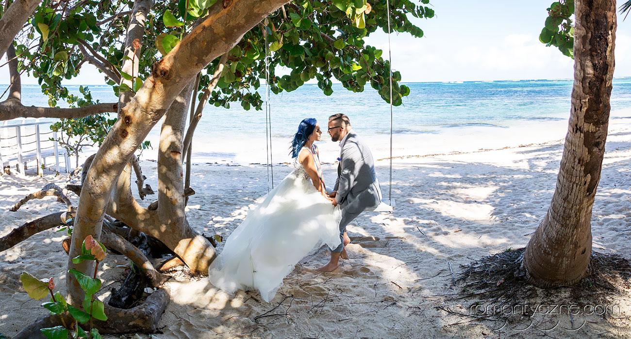 Romantyczny ślub na Karaibach