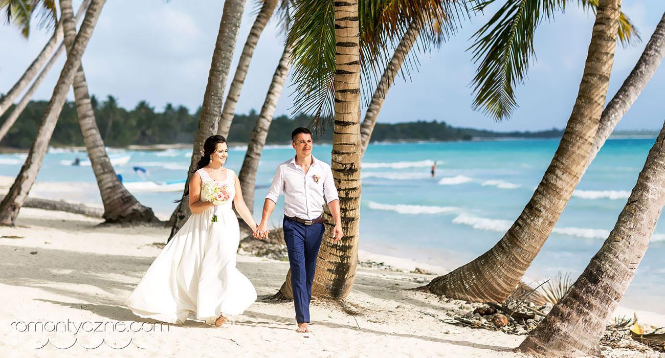 Ślub na rajskiej Saonie