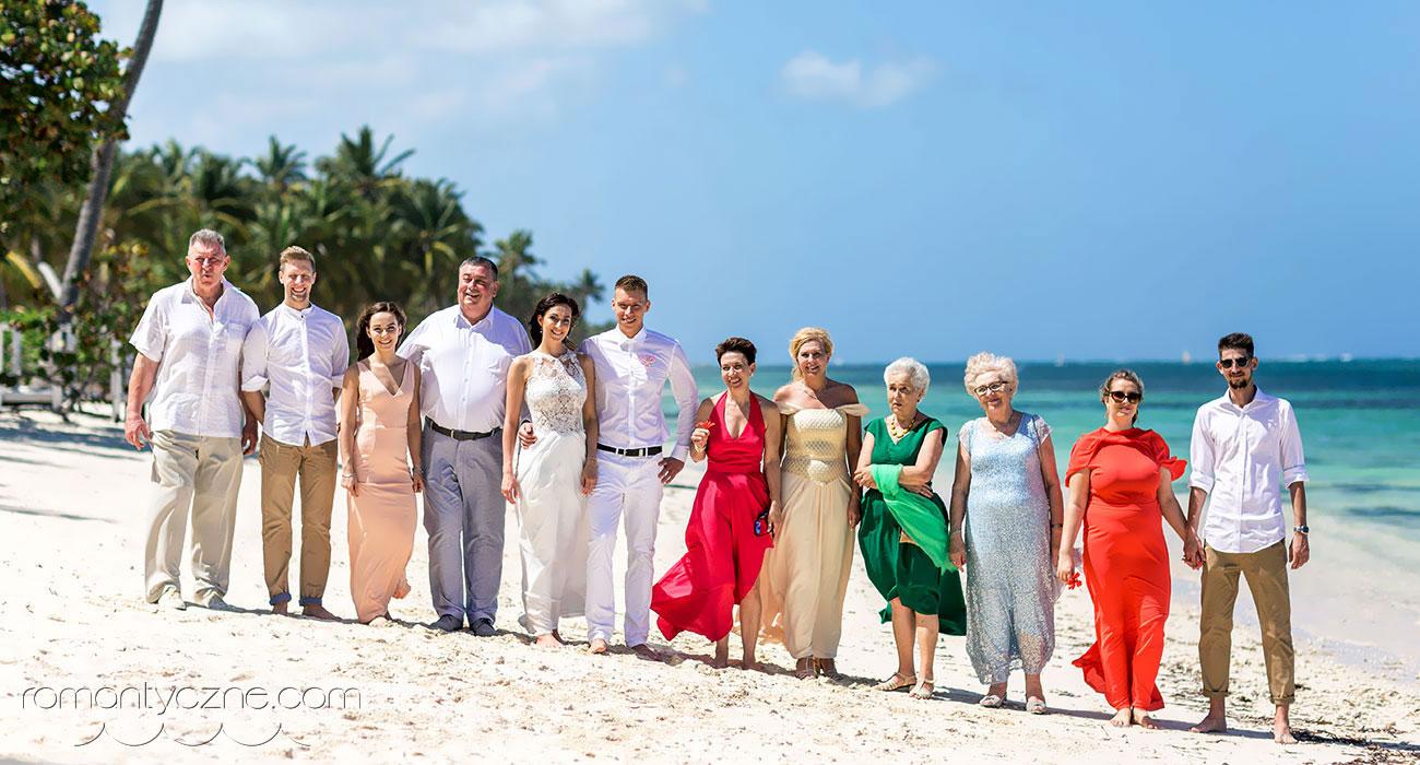Egzotyczny ślub w rodzinnym gronie