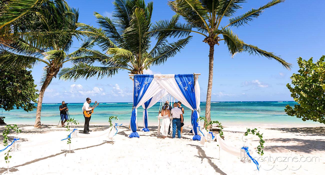 Romantyczny ślub w Dominikanie