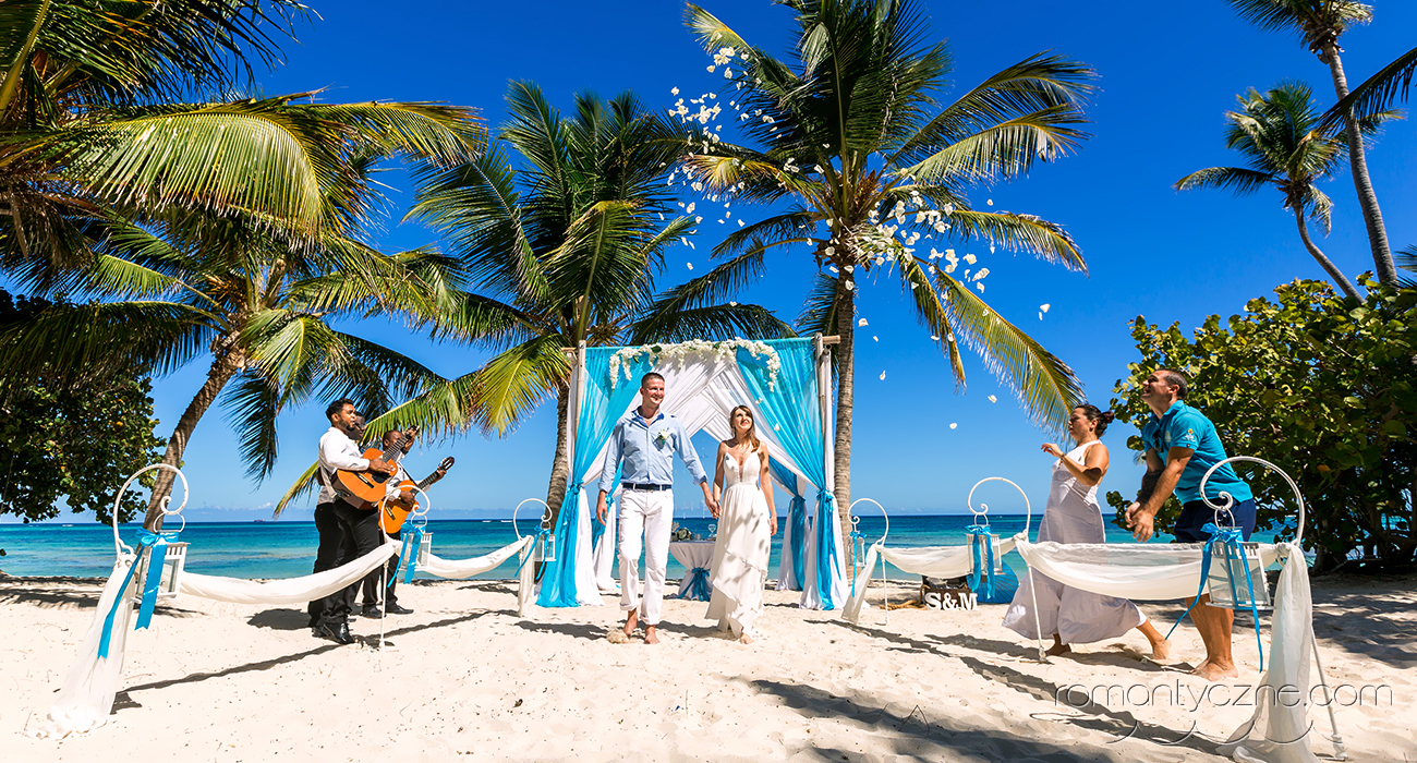 Bajeczny ślub na Karaibach