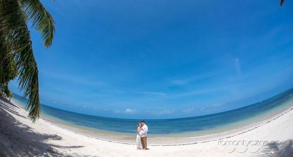Śluby za granicą na rajskiej plaży, zagraniczne podróże poślubne