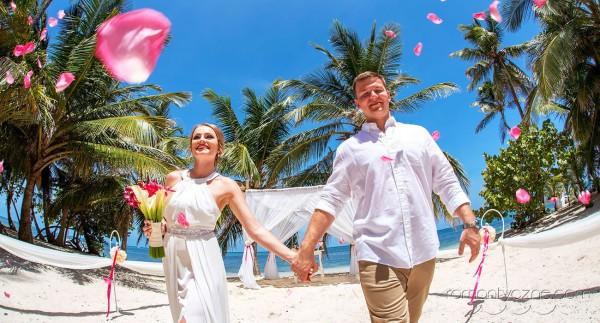 Śluby na dominikańskiej plaży, organizacja ceremonii