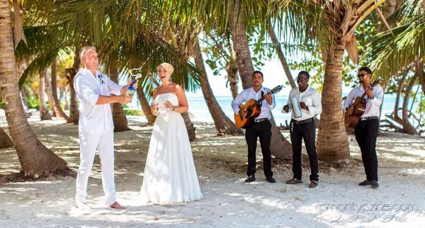 Śluby symboliczne na dominikańskiej plaży, romantyczne ceremonie