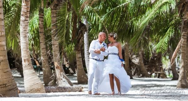 Ceremonie ślubne Saona Island, Dominikana, Karaiby