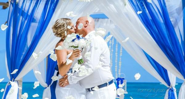 Śluby na rajskiej plaży, romantyczne ceremonie