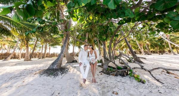 Ceremonie ślubne na rajskiej plaży, Karaiby