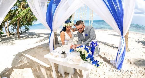 Śluby na tropikalnej plaży, organizacja ślubu