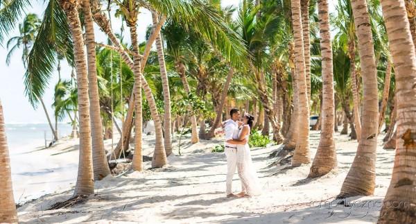 Śluby za granicą Saona Island, Dominikana, romantyczne ceremonie