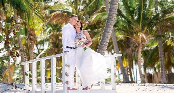 Śluby za granicą na dominikańskiej plaży