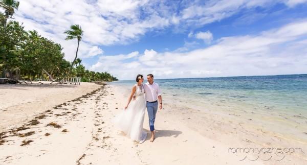 Spacer po plaży, Karaiby
