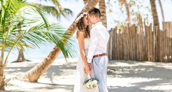 Romantyczne chwile na plaży