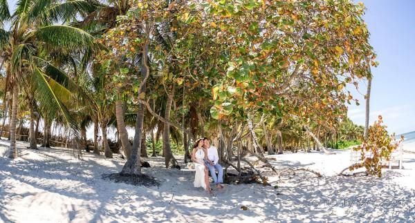 Ślub w Dominikanie, sesje ślubne na plaży