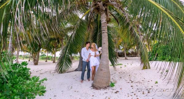 Ślub na prywatnej plaży, Karaiby
