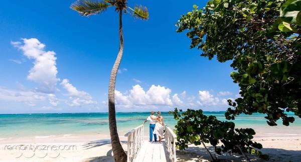 Ślub w Dominikanie, prywatna plaża