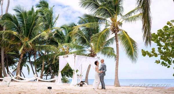 Na karaibskiej plaży, rajskie klimaty