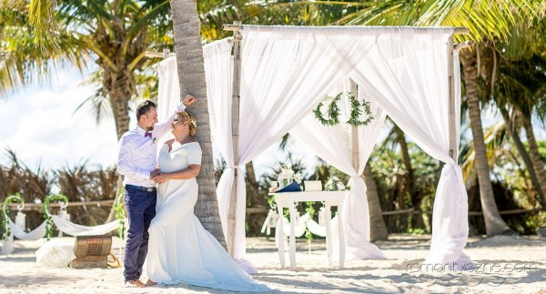 Ceremonia ślubna na plaży, Dominikana