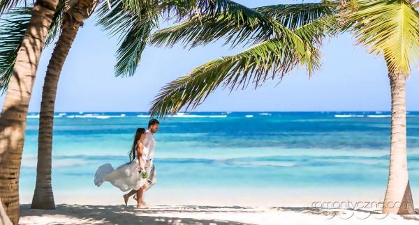 Karaiby, prywatna plaża dla zakochanych