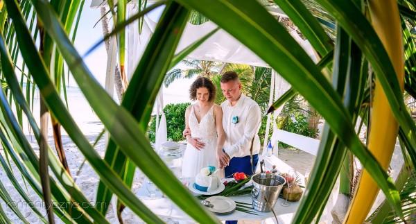 Śluby na plaży, karaibski raj