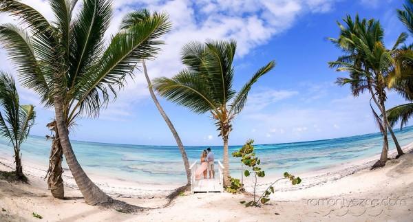 Ślub na plaży, wyspa Saona