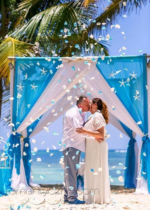 Niezapomniane chwile zaślubin na plaży, Dominikana