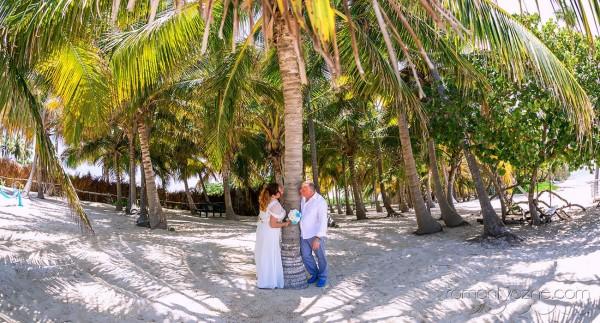 Tropikalne śluby wśród palm
