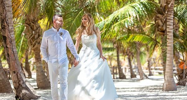 Nieszablonowy ślub Saona Island, Dominikana