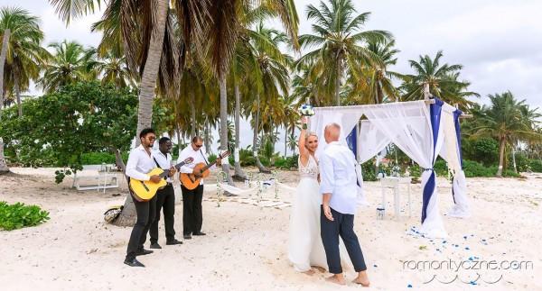 Ceremonia ślubna na dominikańskiej plaży