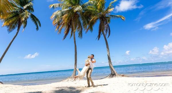 Na dominikańskiej plaży