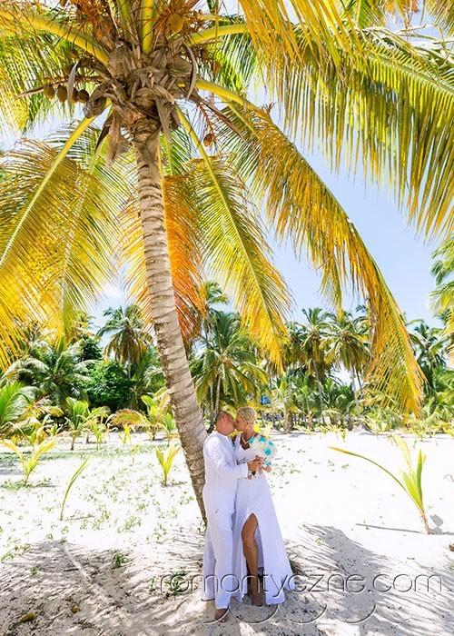 Wyspa Saona, śluby na plaży