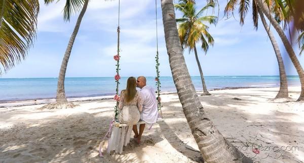 Romantyczne chwile na plaży, Saona Island