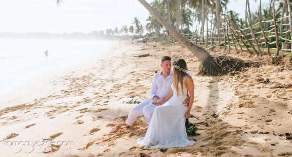 Tropikalne śluby na prywatnej plaży, Dominikana