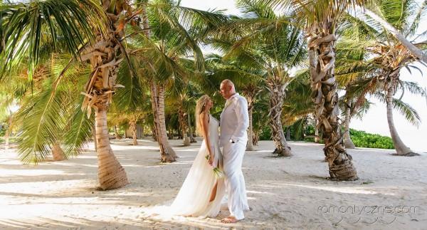 Ceremonie ślubne na tropikalnej plaży, tropikalne śluby