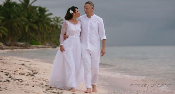 Nieszablonowy ślub Saona Island, Dominikana, tropikalne śluby