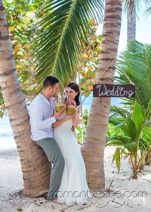 Zaręczyny na dominikańskiej plaży, organizacja ceremonii