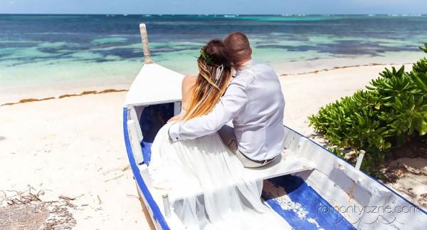 Śluby Saona Island, Dominikana, zagraniczne podróże poślubne