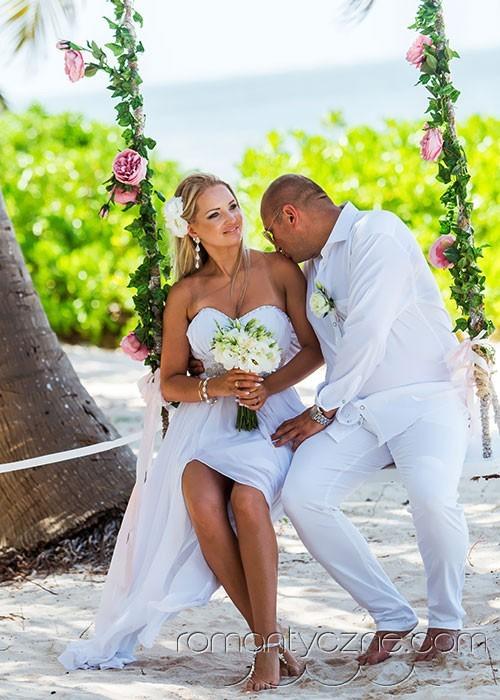Śluby za granicą na dominikańskiej plaży, Karaiby