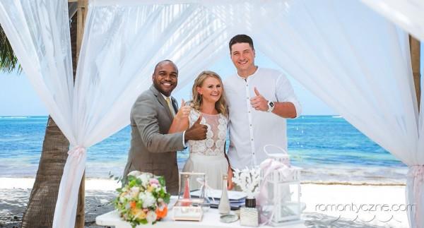 Ceremonie ślubne Saona Island, Dominikana, zagraniczne podróże poślubne