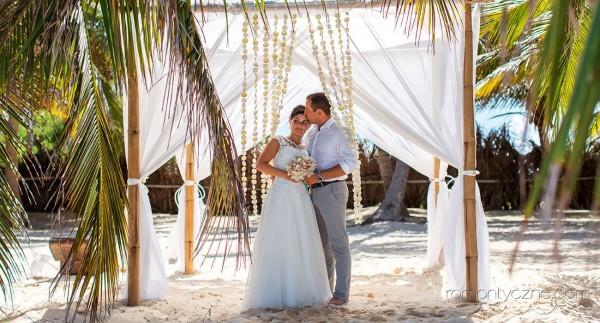 Zaręczyny na tropikalnej plaży, organizacja ceremonii