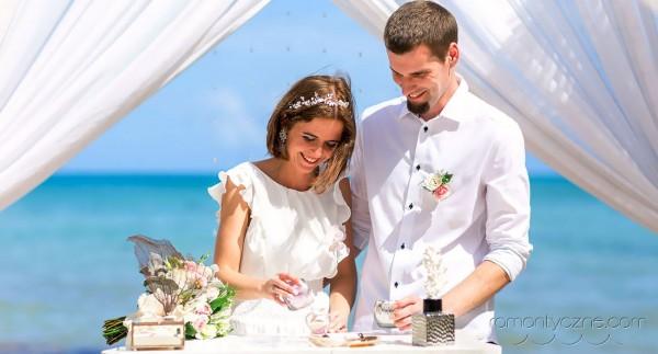 Tropikalne śluby w Dominikanie